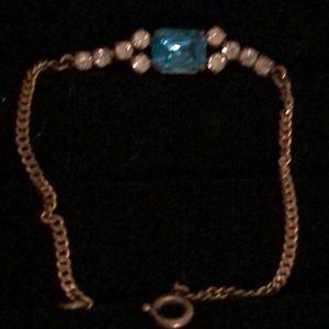 Vintage topaz bracelet